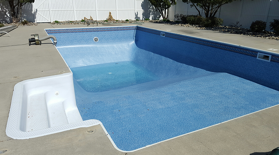 blue diamond pool service, swimming pool renovation, pool liners, high point, North Carolina, NC