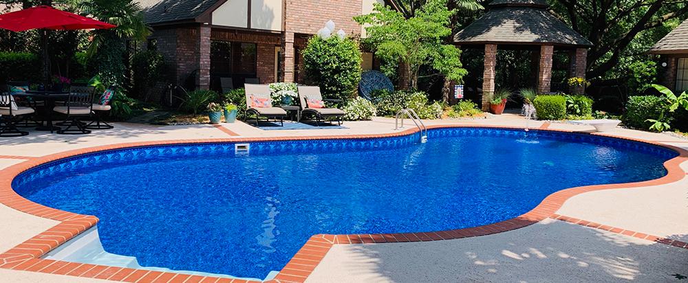 Jameson Pool Liner, Swimming Pool Liners, Liner Patterns, Pool Liners, North Carolina Pool Service, High Point Pool Service, High Point NC Pool Liners